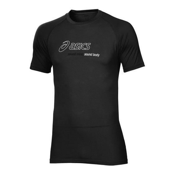 b1058b2418 Asics Logo Graphic rövidujjú férfi póló (fekete) ASC 321321-0900